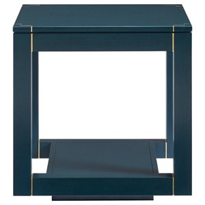 Stanley Furniture Panavista Floating Parsons End Table