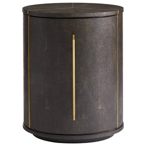 Stanley Furniture Panavista Sundial Drum Table