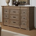 Stanley Furniture Portico Dresser - Item Number: 801-A3-05