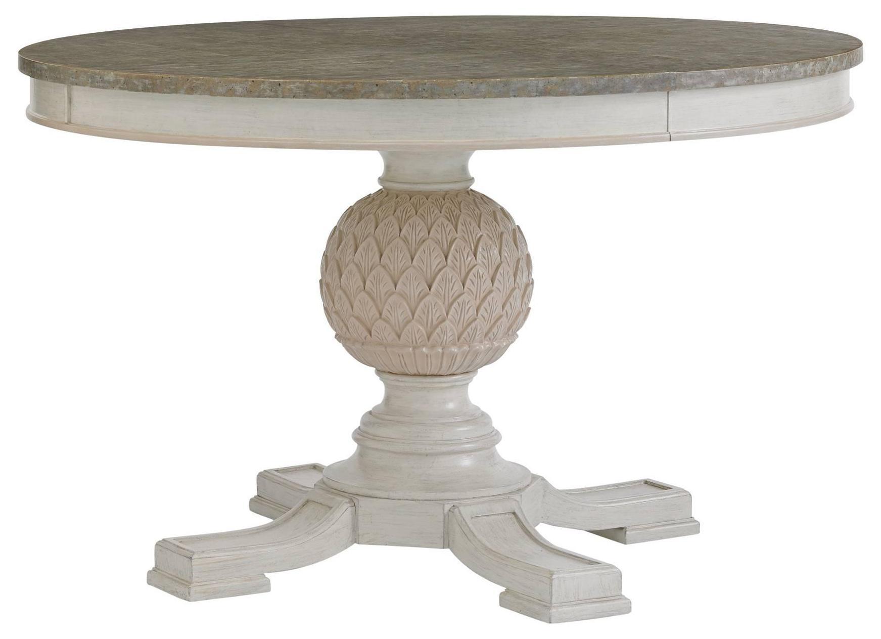 Stanley Furniture Preserve Artichoke Pedestal Table - Item Number: 340-21-30