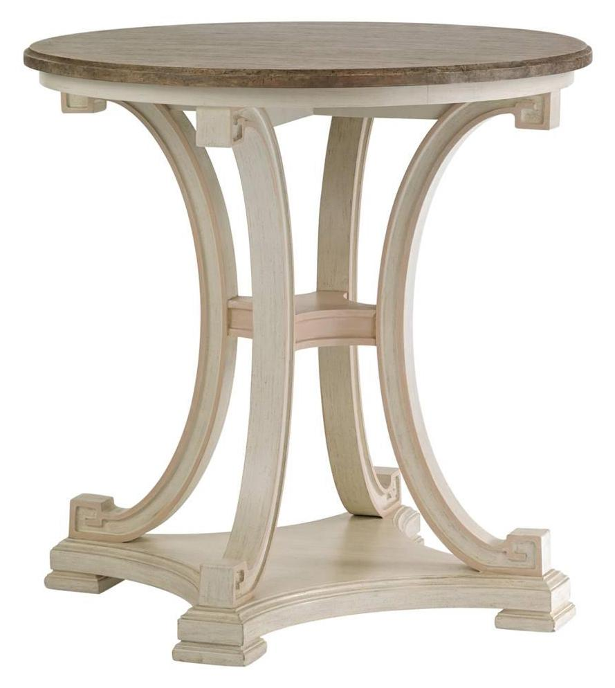 Stanley Furniture Preserve Myrtle Lamp Table - Item Number: 340-25-14