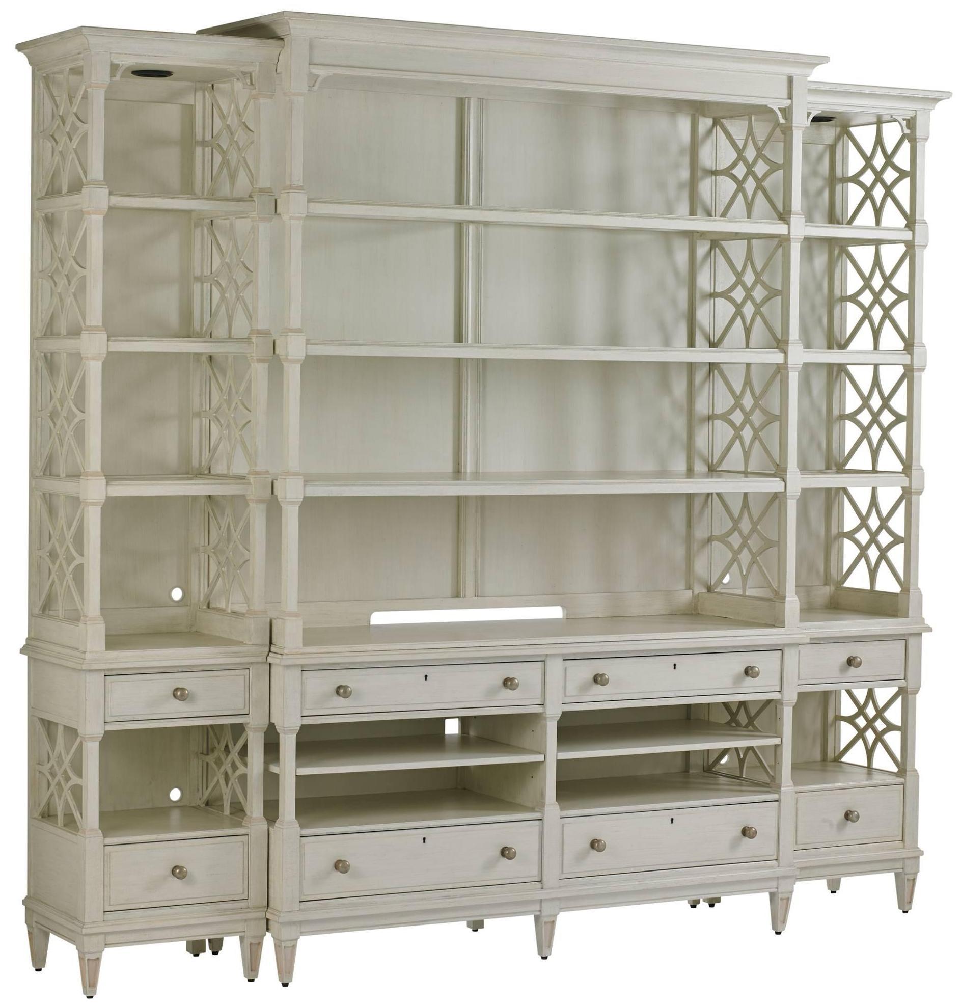 Stanley Furniture Preserve Pavillion Media Bookcase - Item Number: 340-25-31