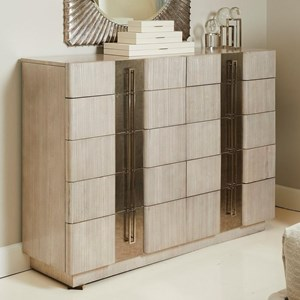 Block Front Dressing Chest