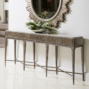 Fluted Console Table