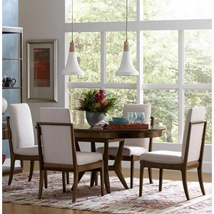 Stanley Furniture Santa Clara 5-Piece Round Table Set
