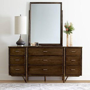 Stanley Furniture Santa Clara Dresser & Mirror