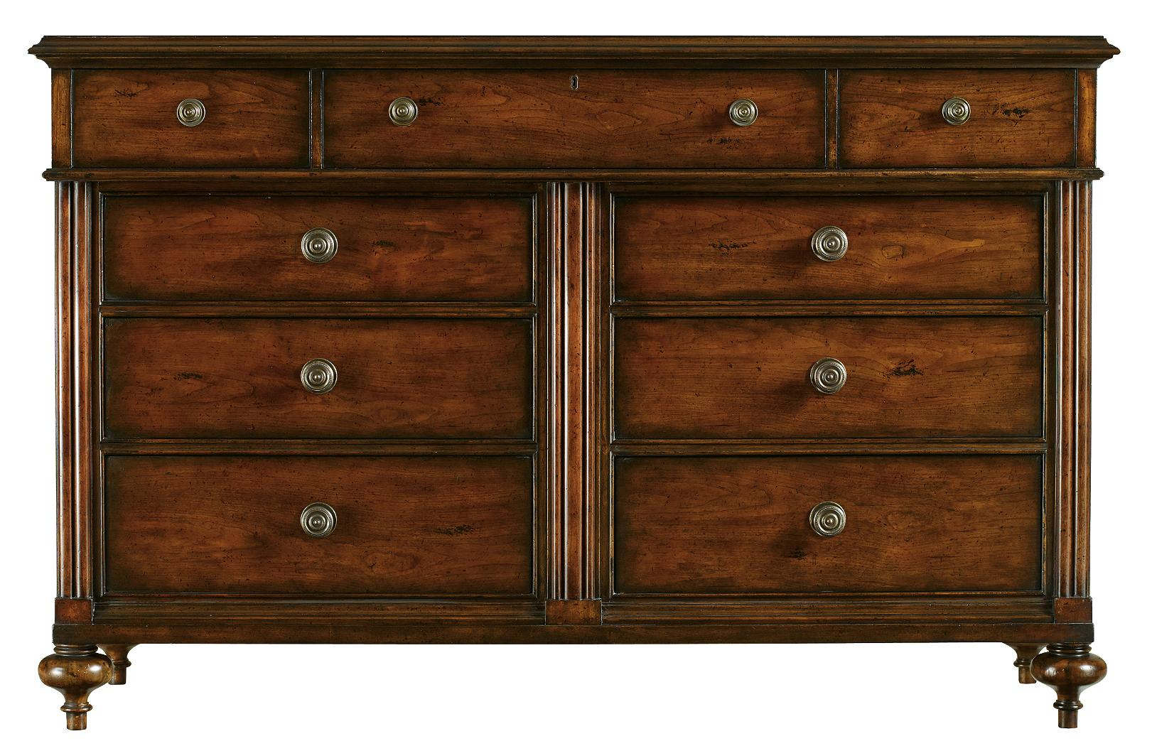 Stanley Furniture The Classic Portfolio - British Colonial Dresser - Item Number: 020-63-05