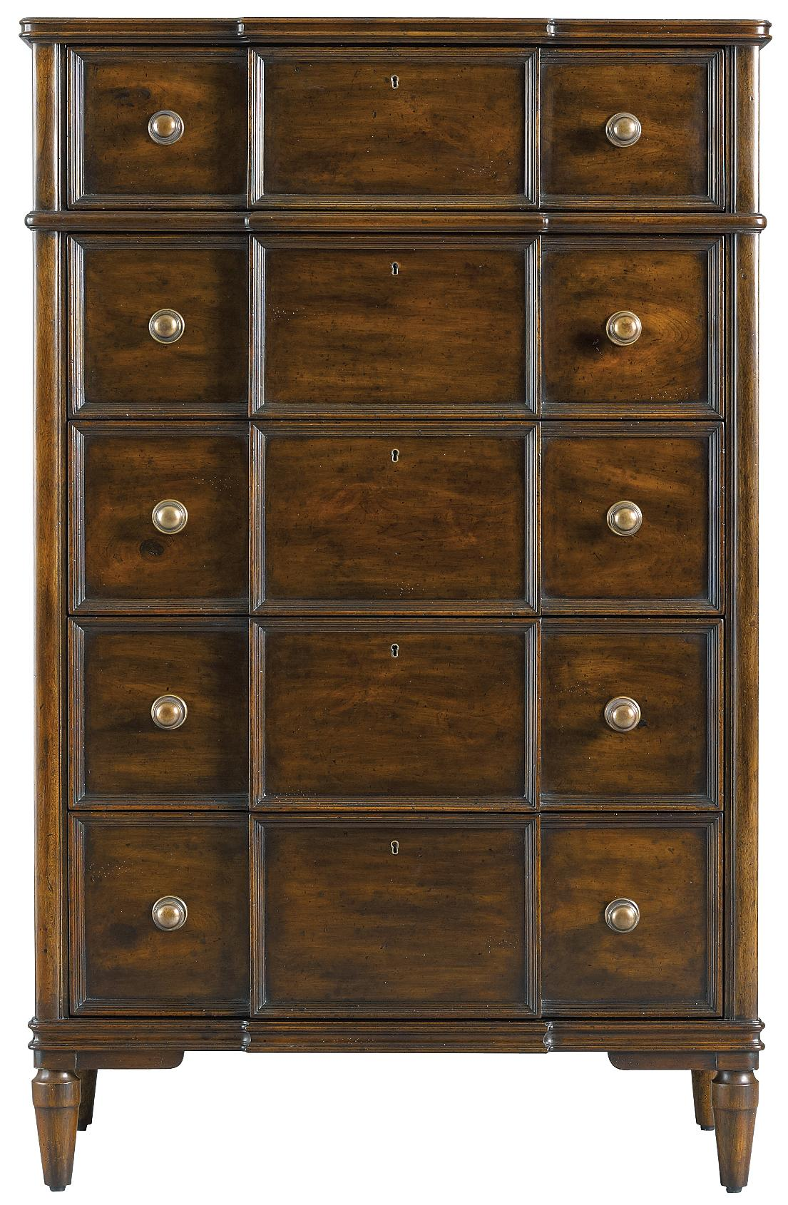 Stanley Furniture The Classic Portfolio - Vintage Drawer Chest - Item Number: 264-13-10