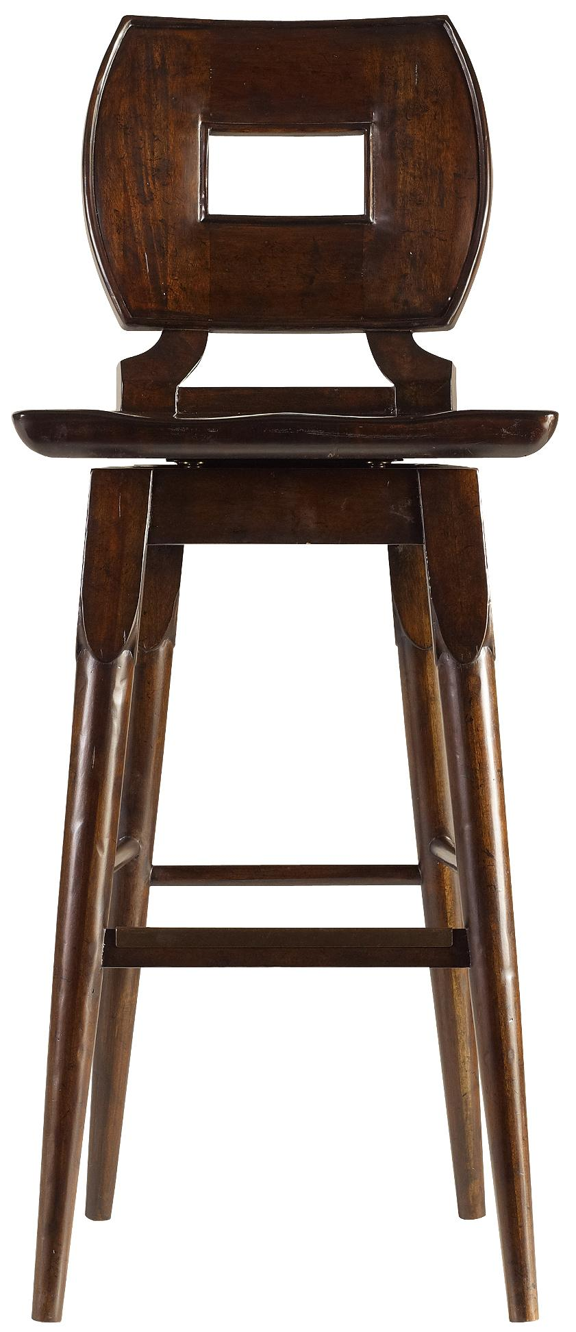 Stanley Furniture The Classic Portfolio Artisan Wood Bar Stool - Item Number: 135-11-73