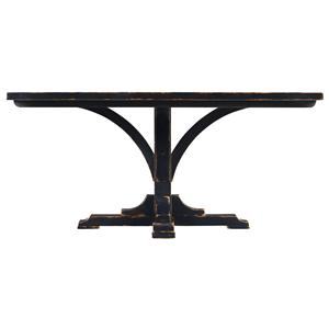 Stanley Furniture The Classic Portfolio Artisan Pedestal Table