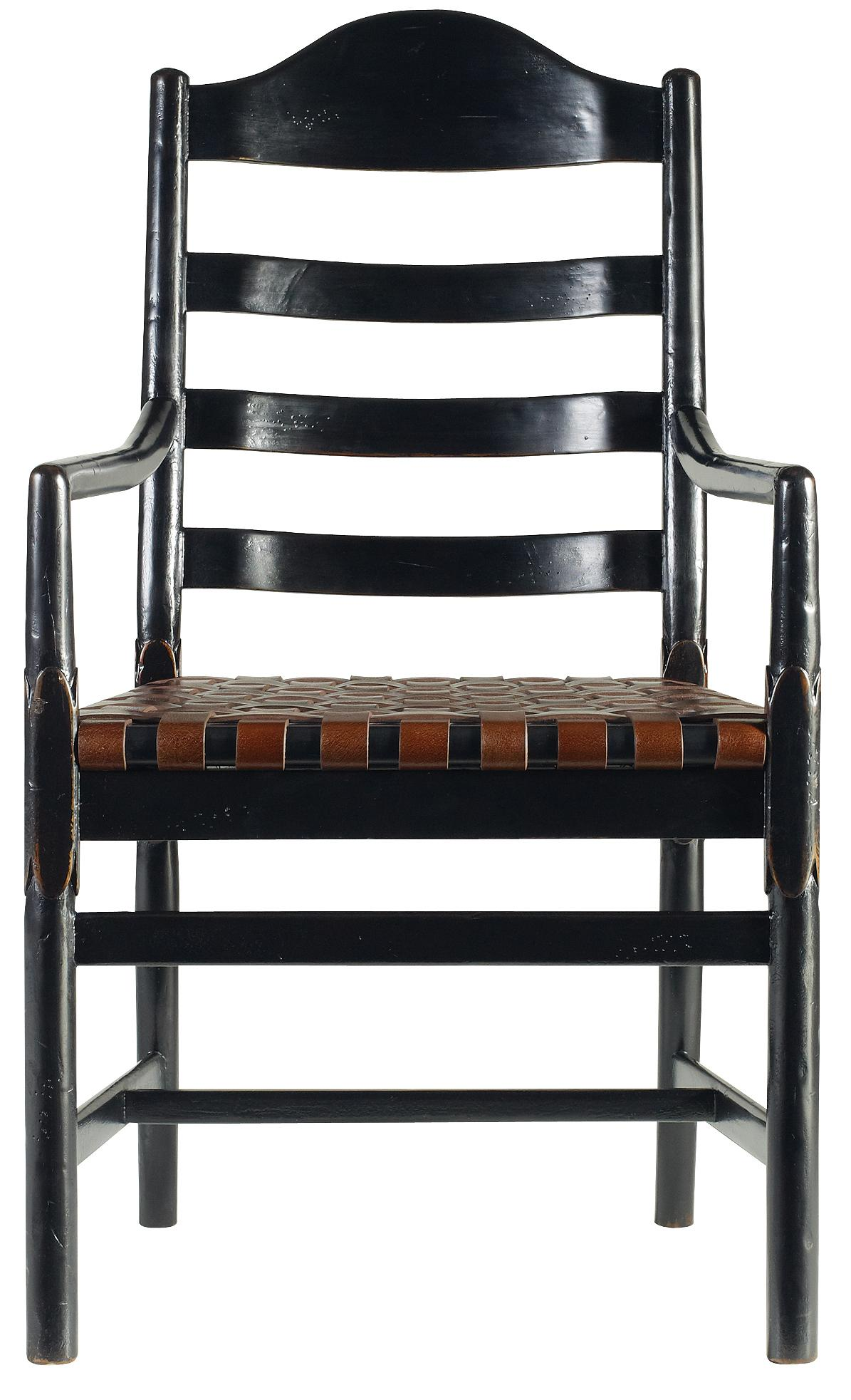 Stanley Furniture The Classic Portfolio Artisan Ladderback Arm Chair - Item Number: 135-81-70