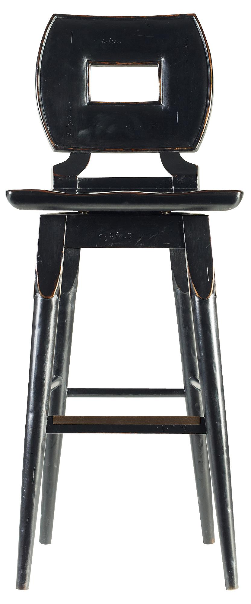 Stanley Furniture The Classic Portfolio Artisan Wood Bar Stool - Item Number: 135-81-73
