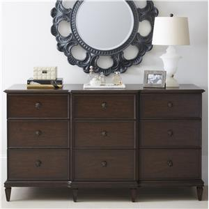 Stanley Furniture Villa Couture Lucio Dresser & Aurora Mirror