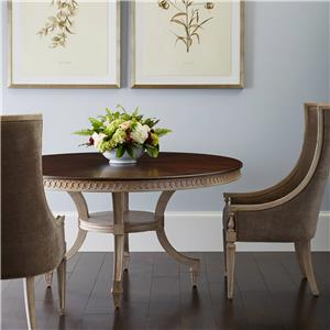 Stanley Furniture Villa Couture 3-Piece Ana Round Table Set