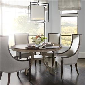 Stanley Furniture Villa Couture 5-Piece Ana Round Table Set