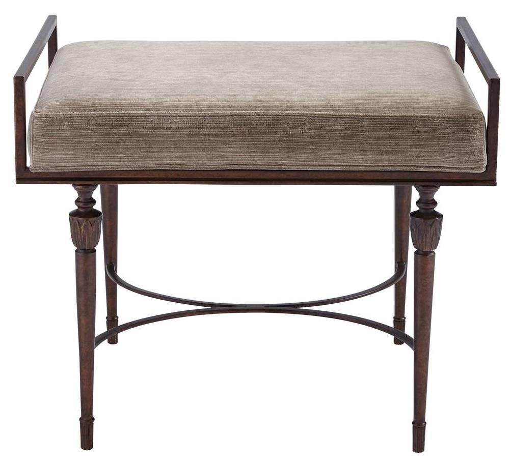 Stanley Furniture Villa Couture Catarina Bed End Bench - Item Number: 510-43-72