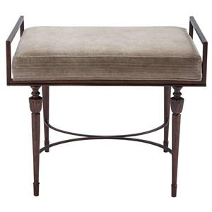 Stanley Furniture Villa Couture Catarina Bed End Bench