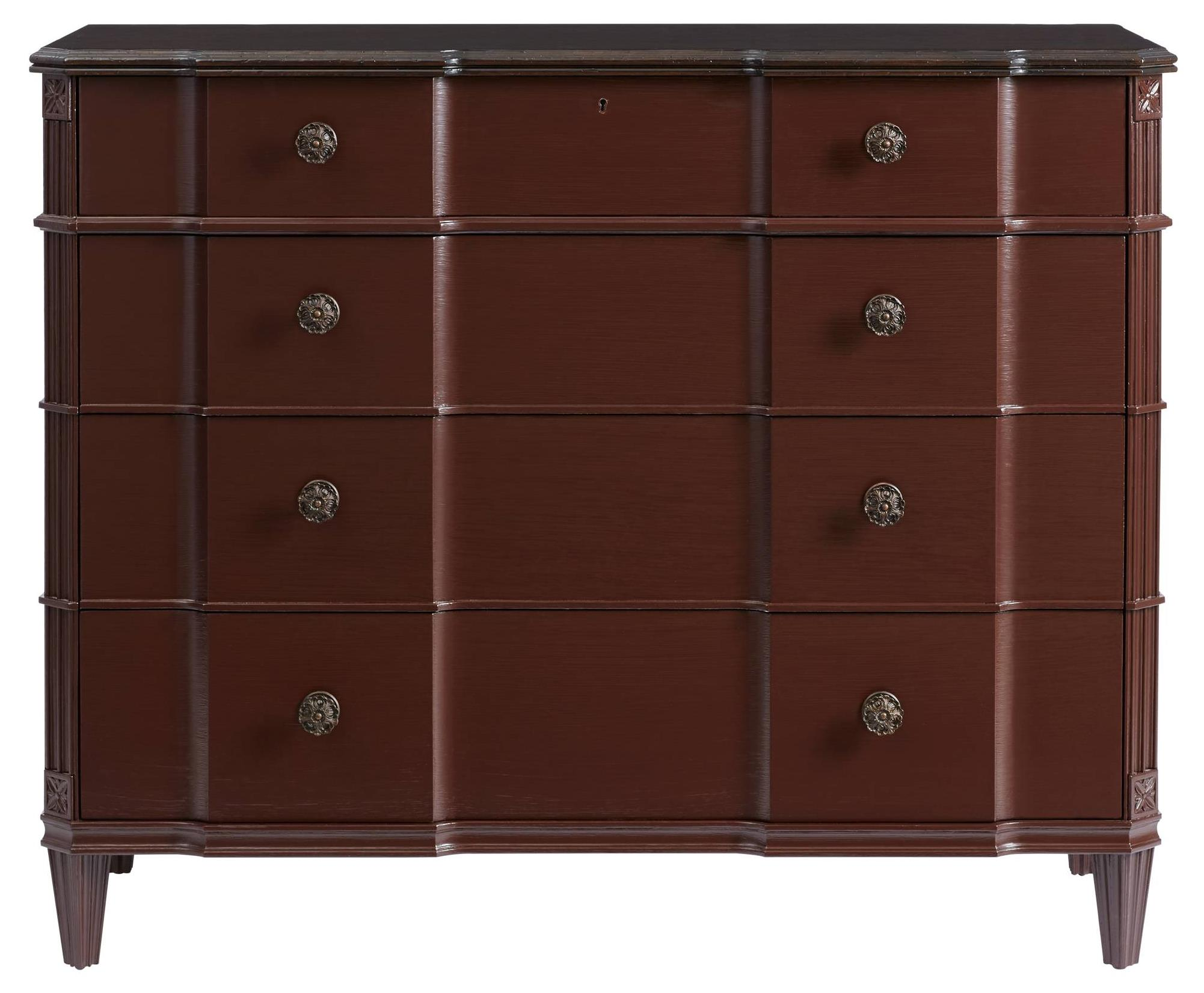 Stanley Furniture Villa Couture Claudia Single Dresser - Item Number: 510-73-04