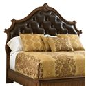 Stanley Furniture Villa Fiora King Upholstered Panel Headboard - Item Number: 391-13-146
