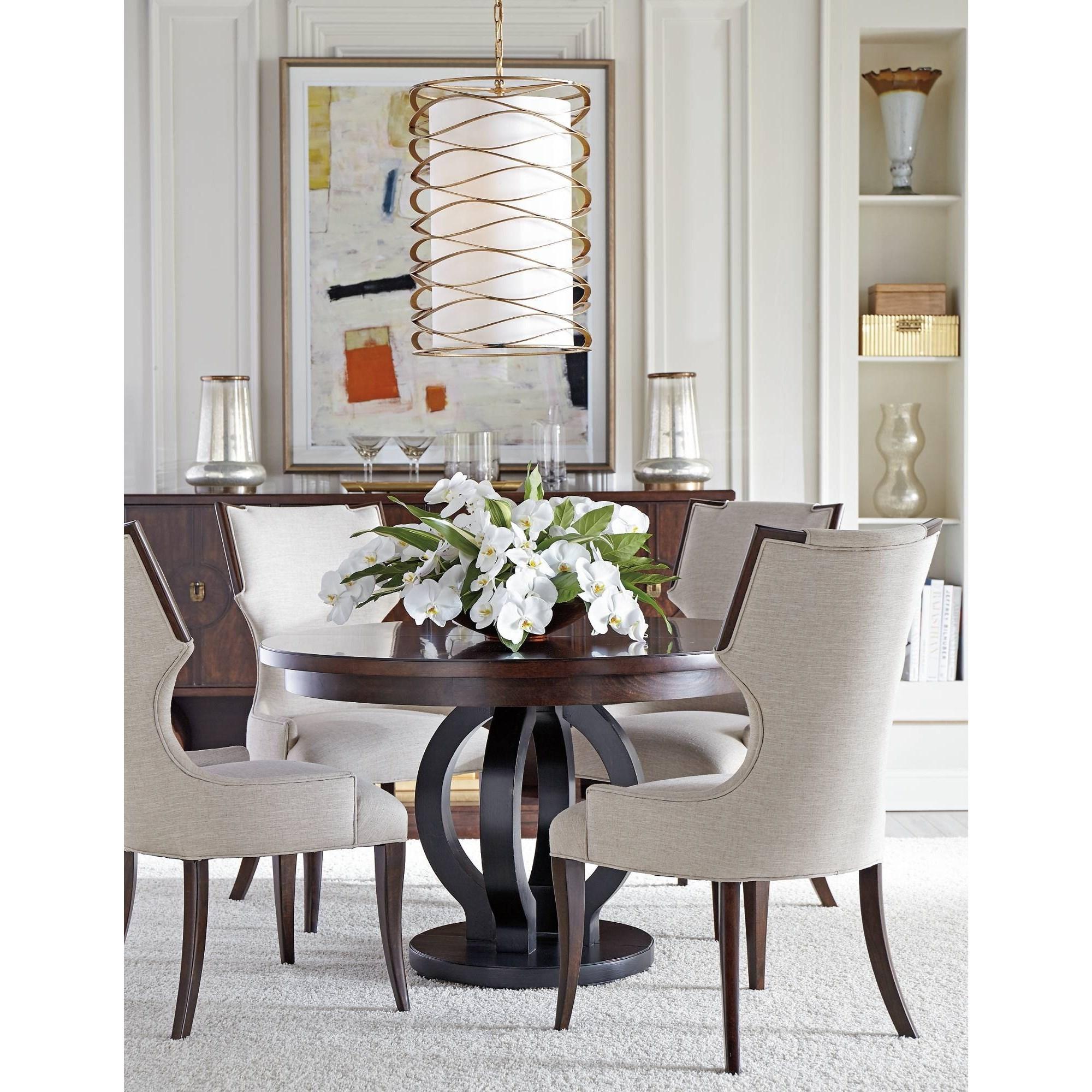 Stanley Furniture Virage Formal Dining Room Group - Item Number: 696-1 Dining Room Group 3