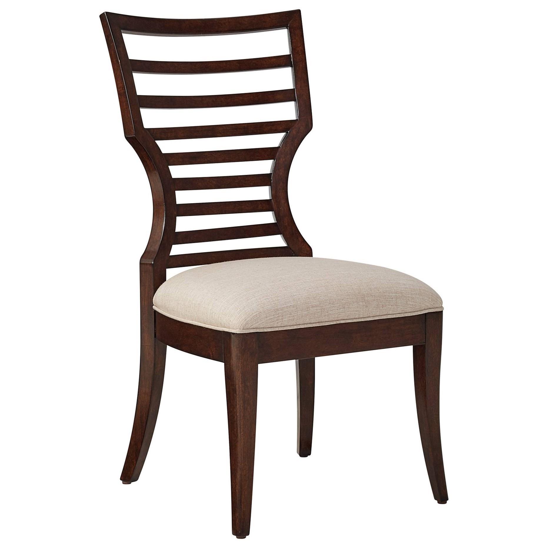 Becker Furniture Burnsville By Stanley Furniture Virage Wood Side Chair  With Modern ...