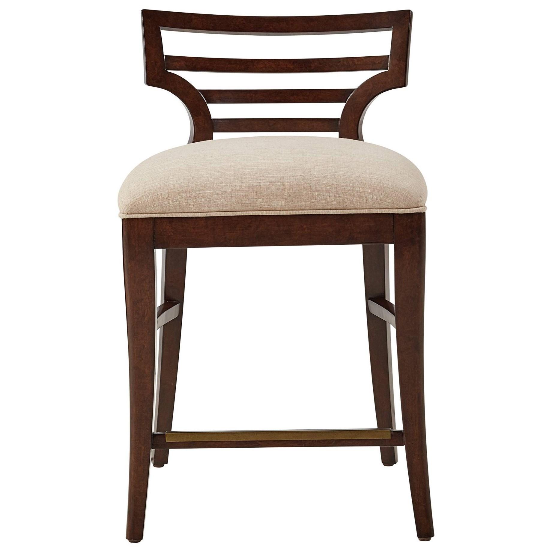 Stanley Furniture Virage Dining Room Set: Stanley Furniture Virage Counter Stool With Upholstered