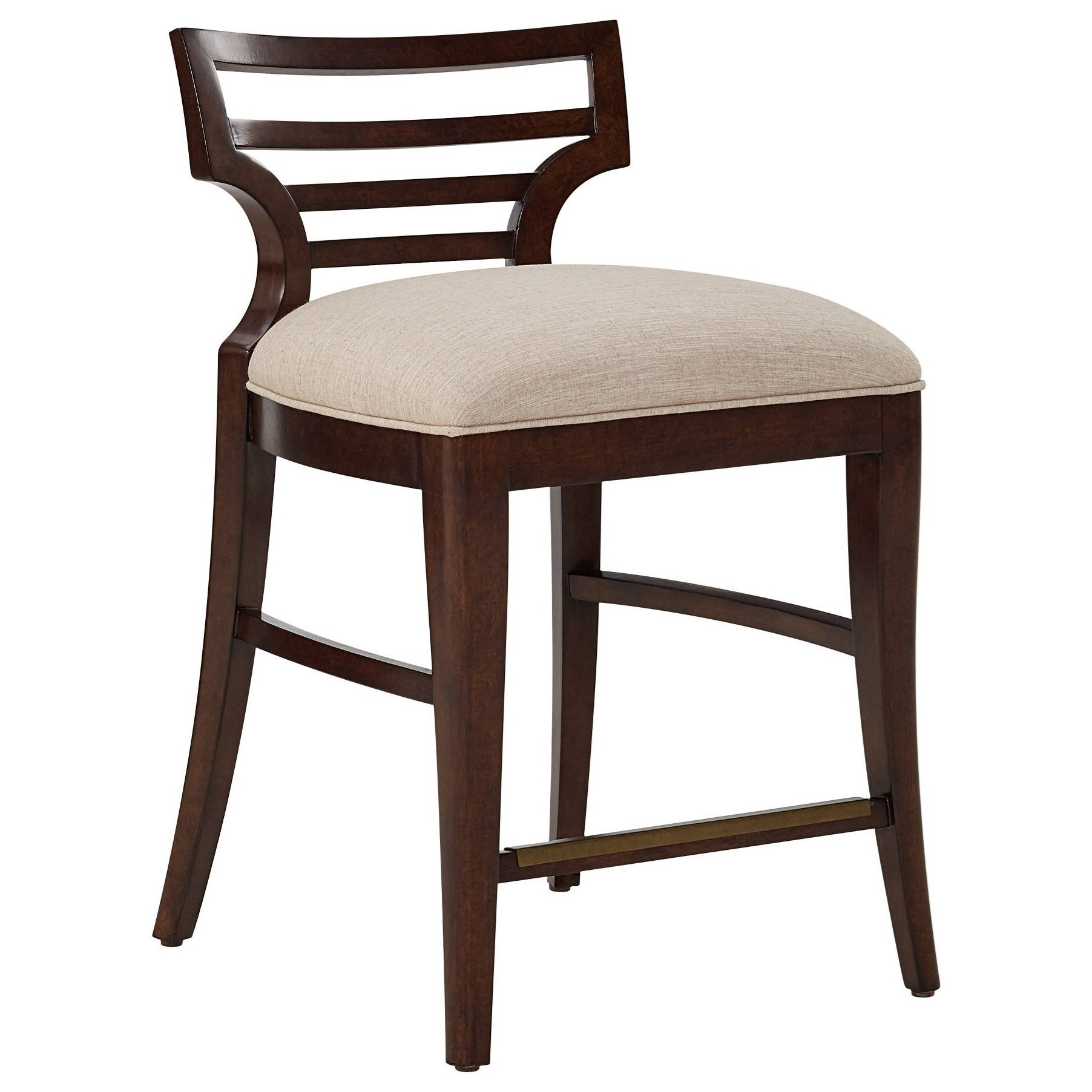Stanley furniture virage counter stool with upholstered seat becker furniture world bar stools - Furniture wereld counter ...
