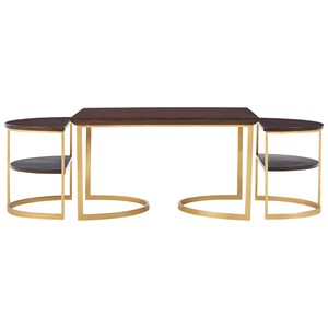 Stanley Furniture Virage Bunching Cocktail Table Set