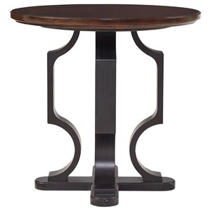 Stanley Furniture Virage Round Lamp Table