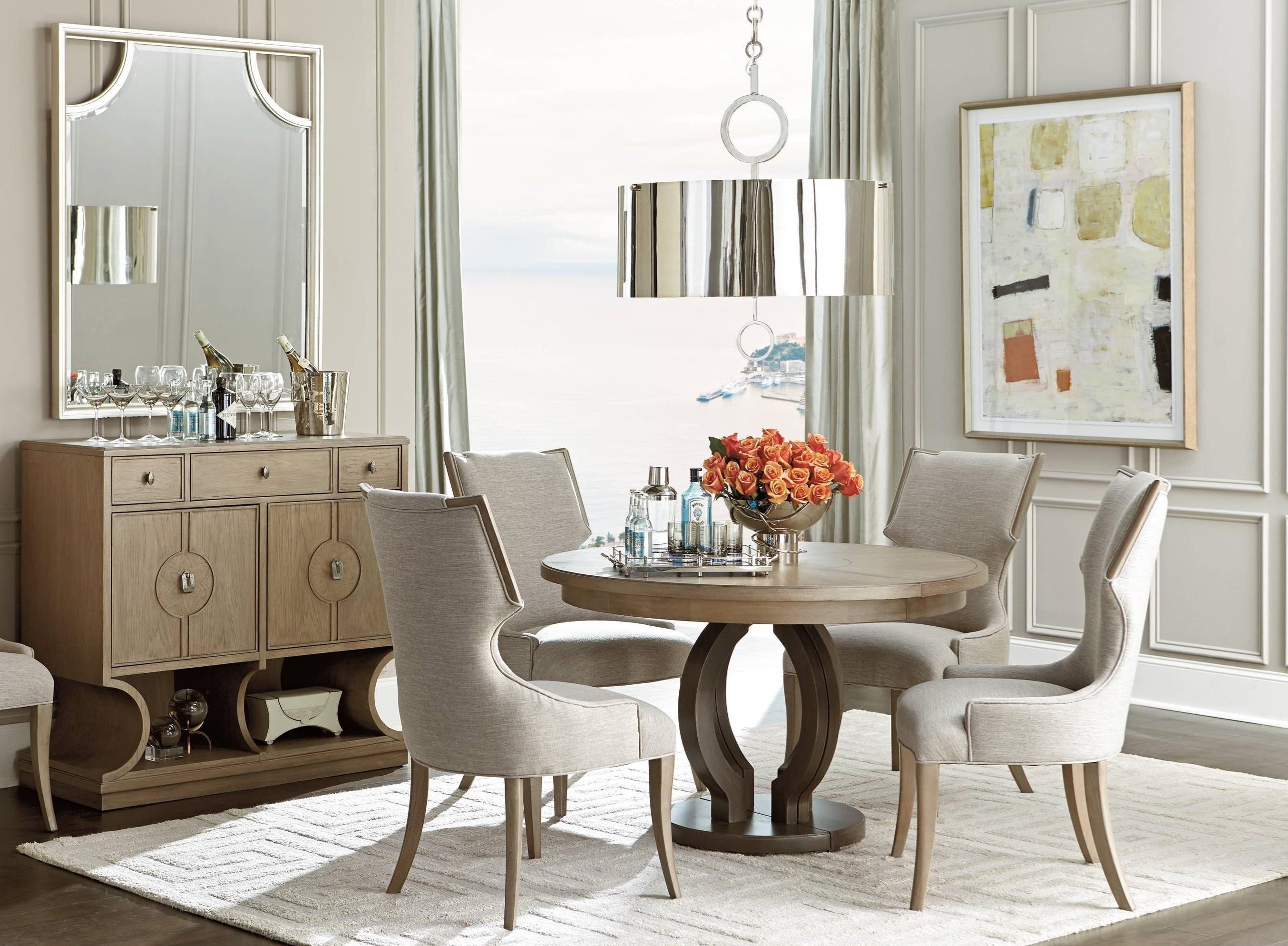 Stanley Furniture Virage Formal Dining Room Group - Item Number: 696-6 Dining Room Group 4