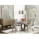Stanley Furniture Virage Formal Dining Room Group - Item Number: 696-6 Dining Room Group 4