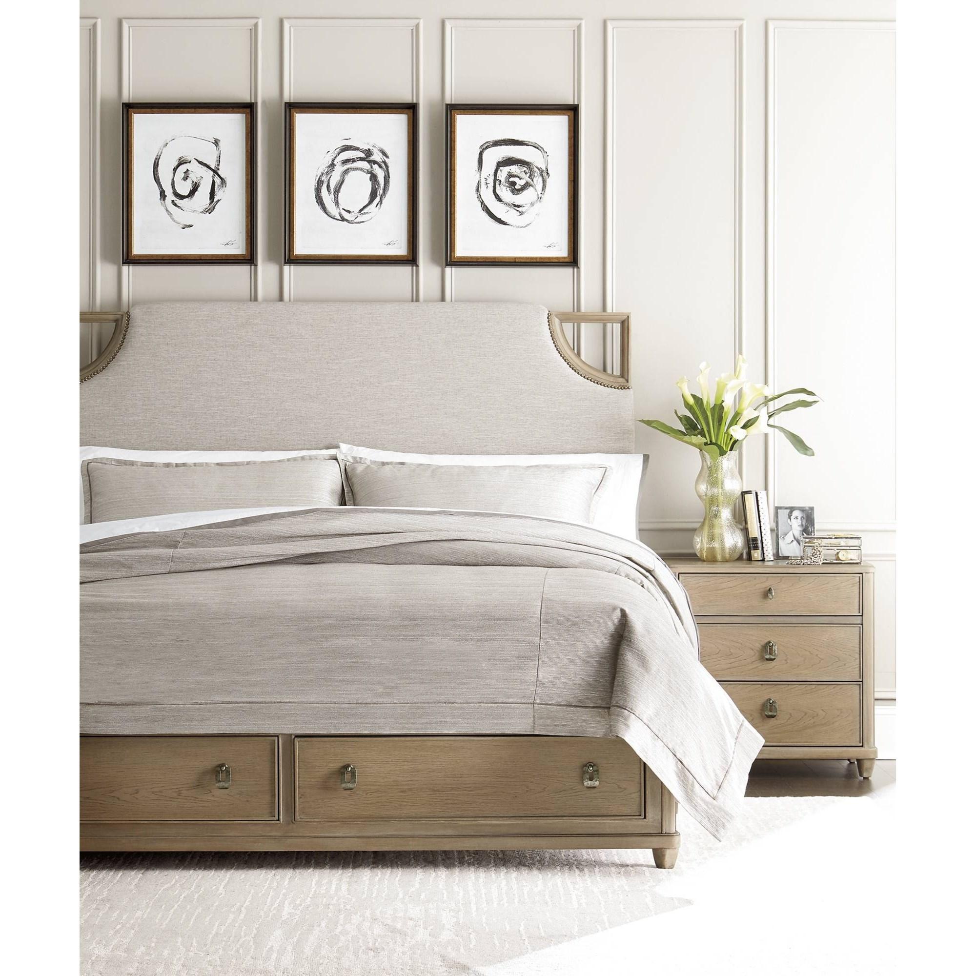 Stanley Furniture Virage King Bedroom Group - Item Number: 696-6 K Bedroom Group 4