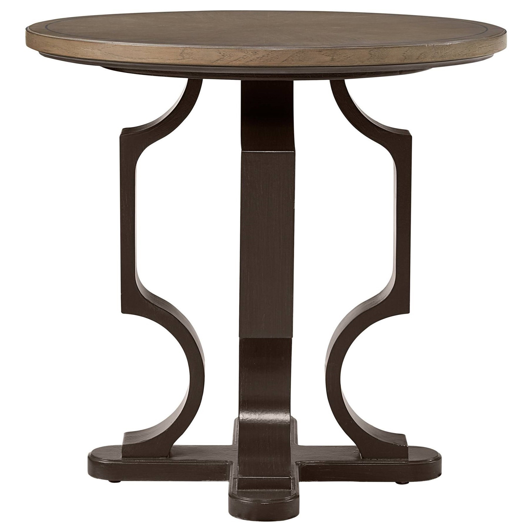 Stanley Furniture Virage Round Lamp Table - Item Number: 696-65-14