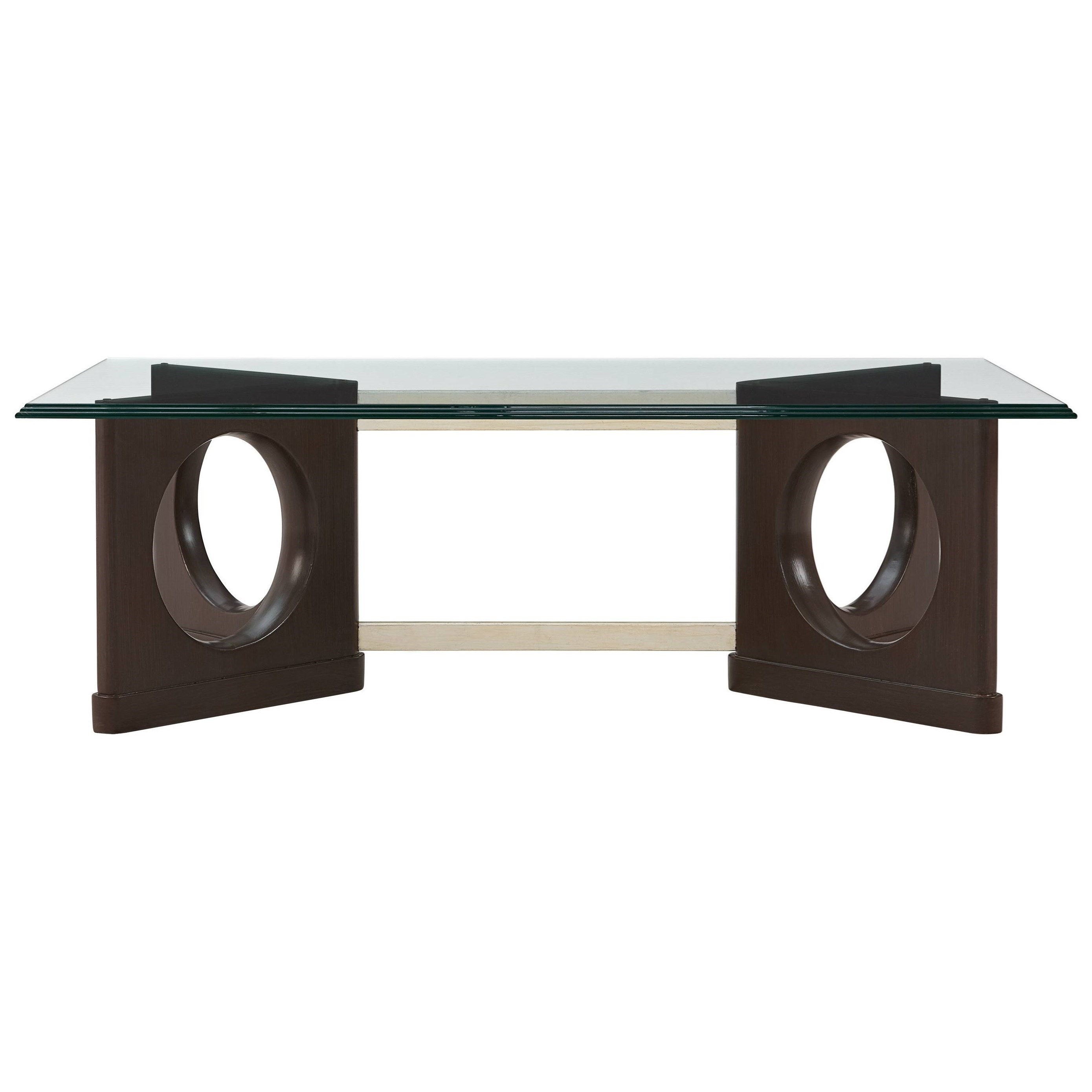 Stanley Furniture Virage Cocktail Table With Glass Top Belfort Furniture Cocktail Coffee Tables