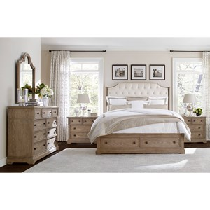 Stanley Furniture Wethersfield Estate Queen Bedroom Group