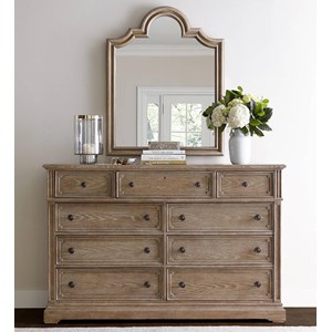 Stanley Furniture Wethersfield Estate Dresser & Mirror
