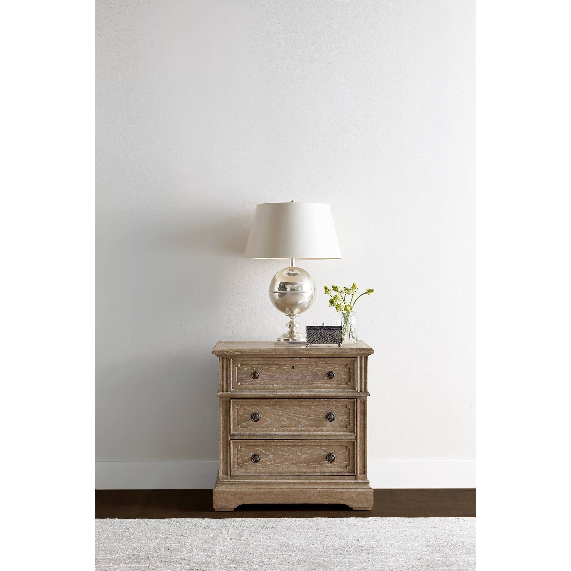 Stanley Furniture Wethersfield Estate 518 13 80 Nightstand With 3 Soft Close Drawers Becker