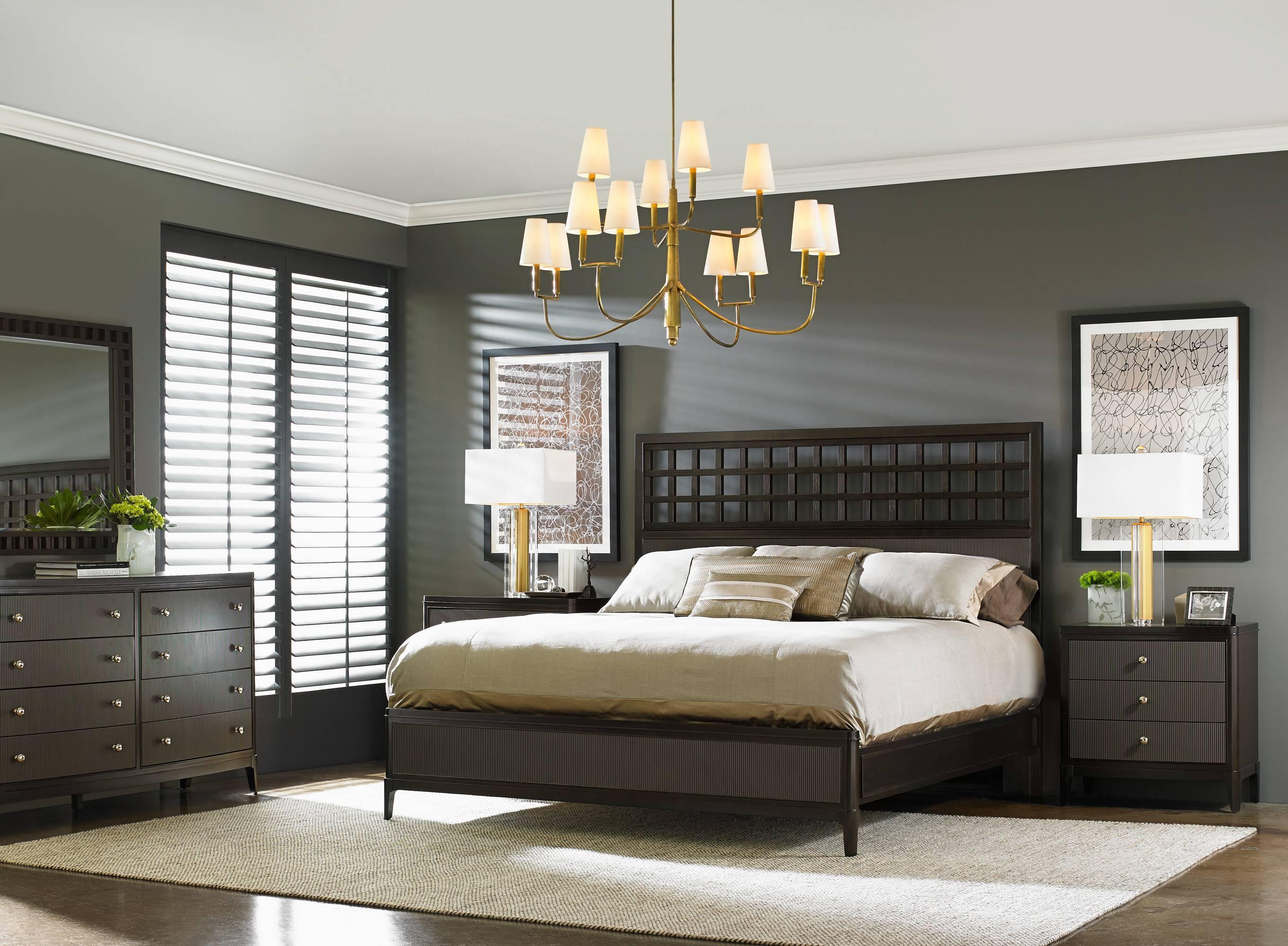 Stanley Furniture Wicker Park  King Bedroom Group - Item Number: 409-13 K Bedroom Group 1