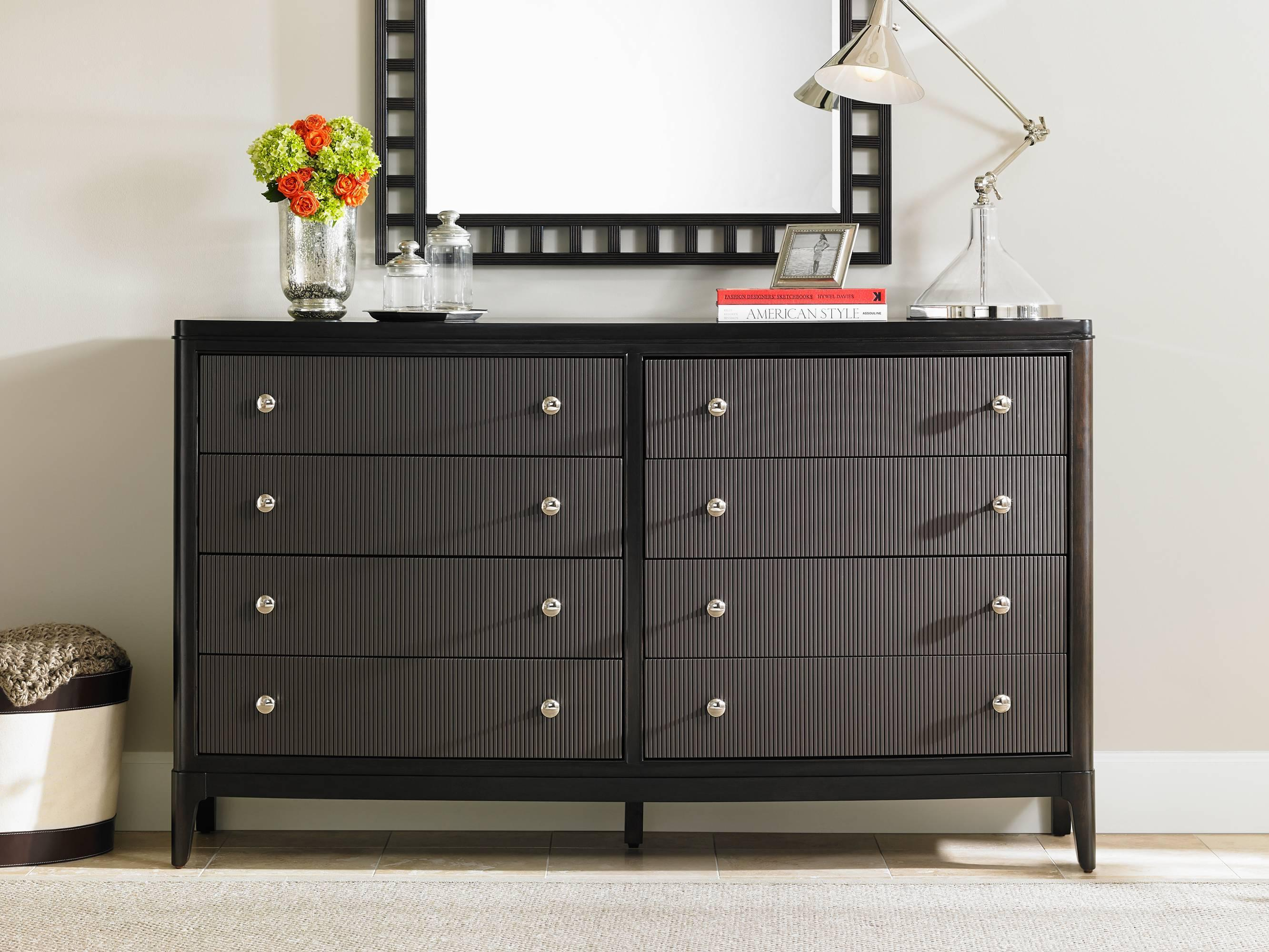 Stanley Furniture Wicker Park  Dresser and Mirror Set - Item Number: 409-13-30+05
