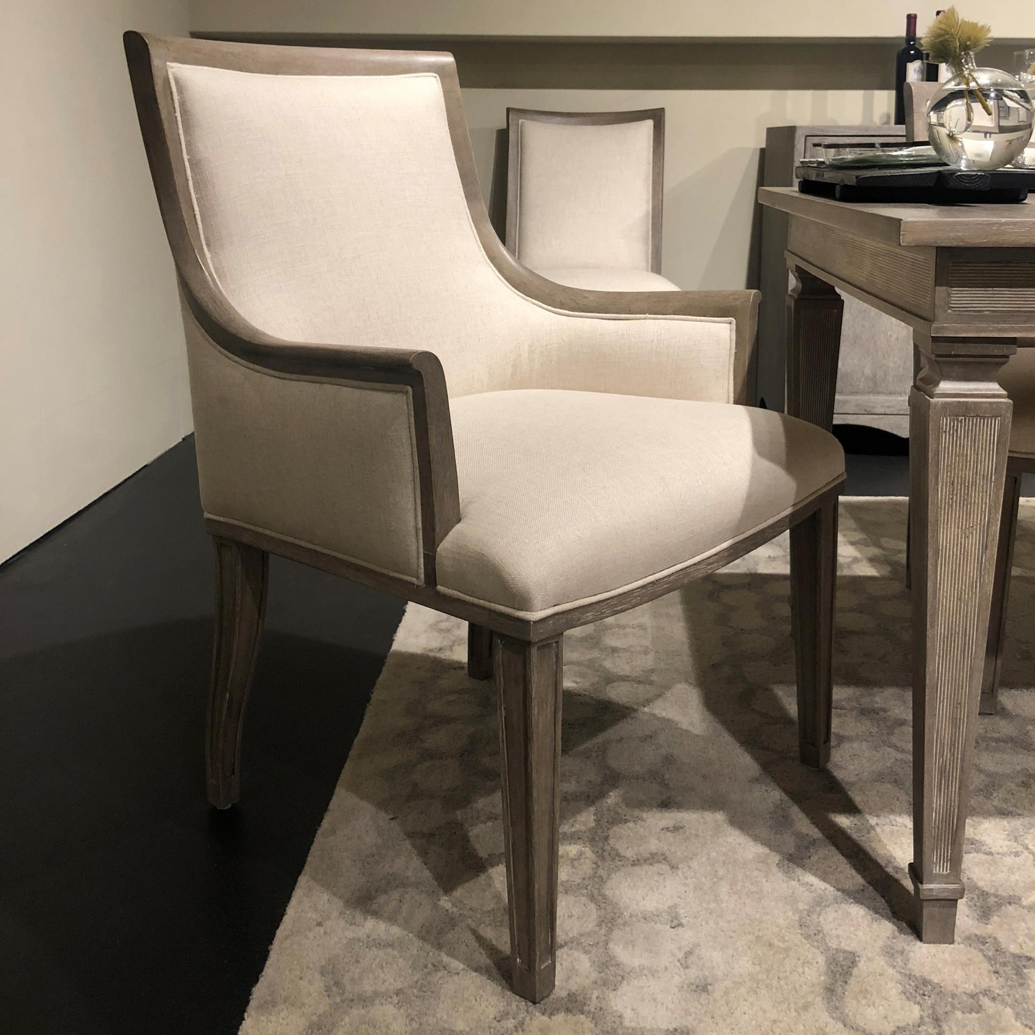 Stanley Furniture Willow Arm Chair Dream Home Interiors Dining Arm Chairs