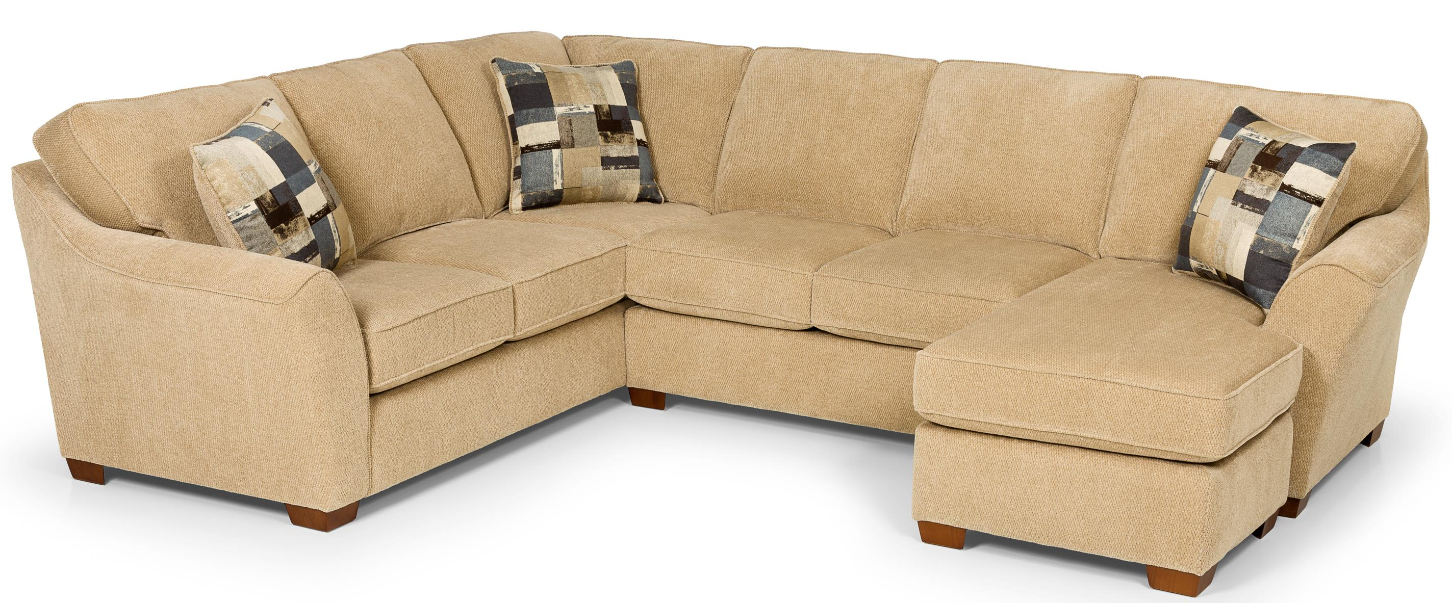 112 L Shaped Sectional by Stanton at Wilson's Furniture