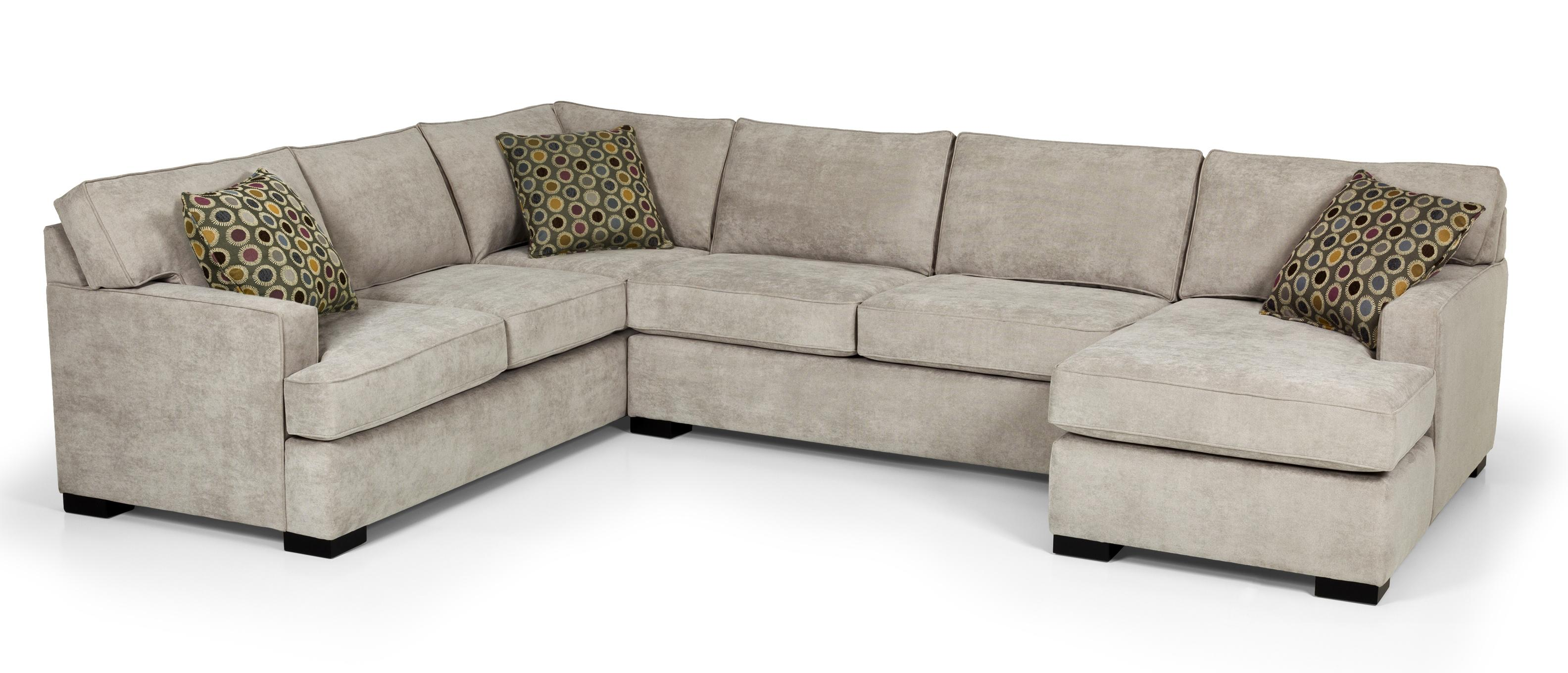 Stanton 146 Four Piece Sectional Sofa w/ LAF Chaise - Item Number: 146-12+146-41+146-23+146-21