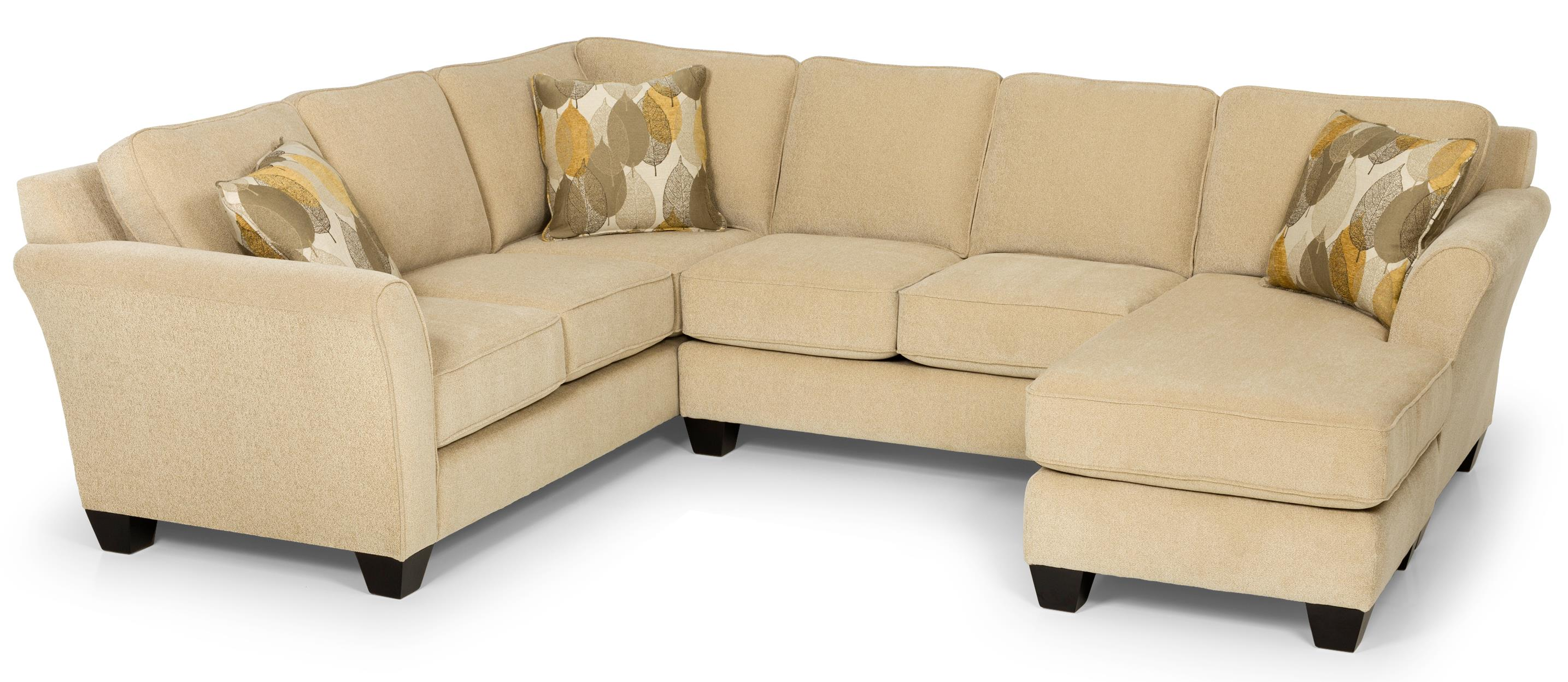 Stanton 184 Sectional Sofa - Item Number: 184-10L+45R