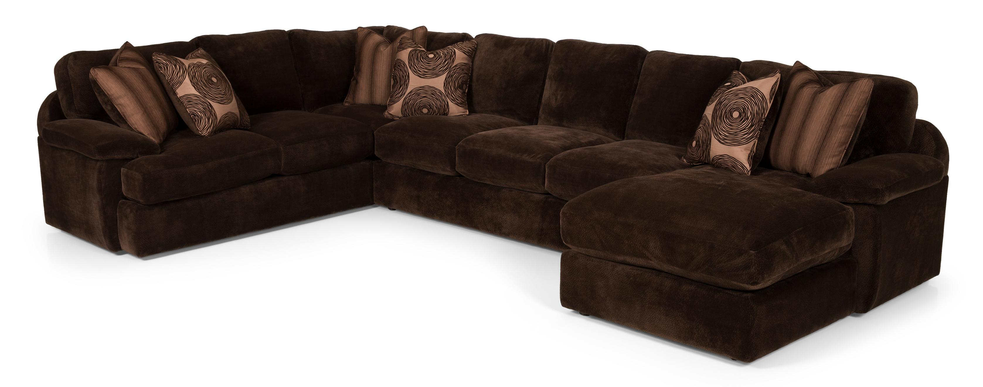 3 Pc Sectional Sofa w/ LAF Chaise