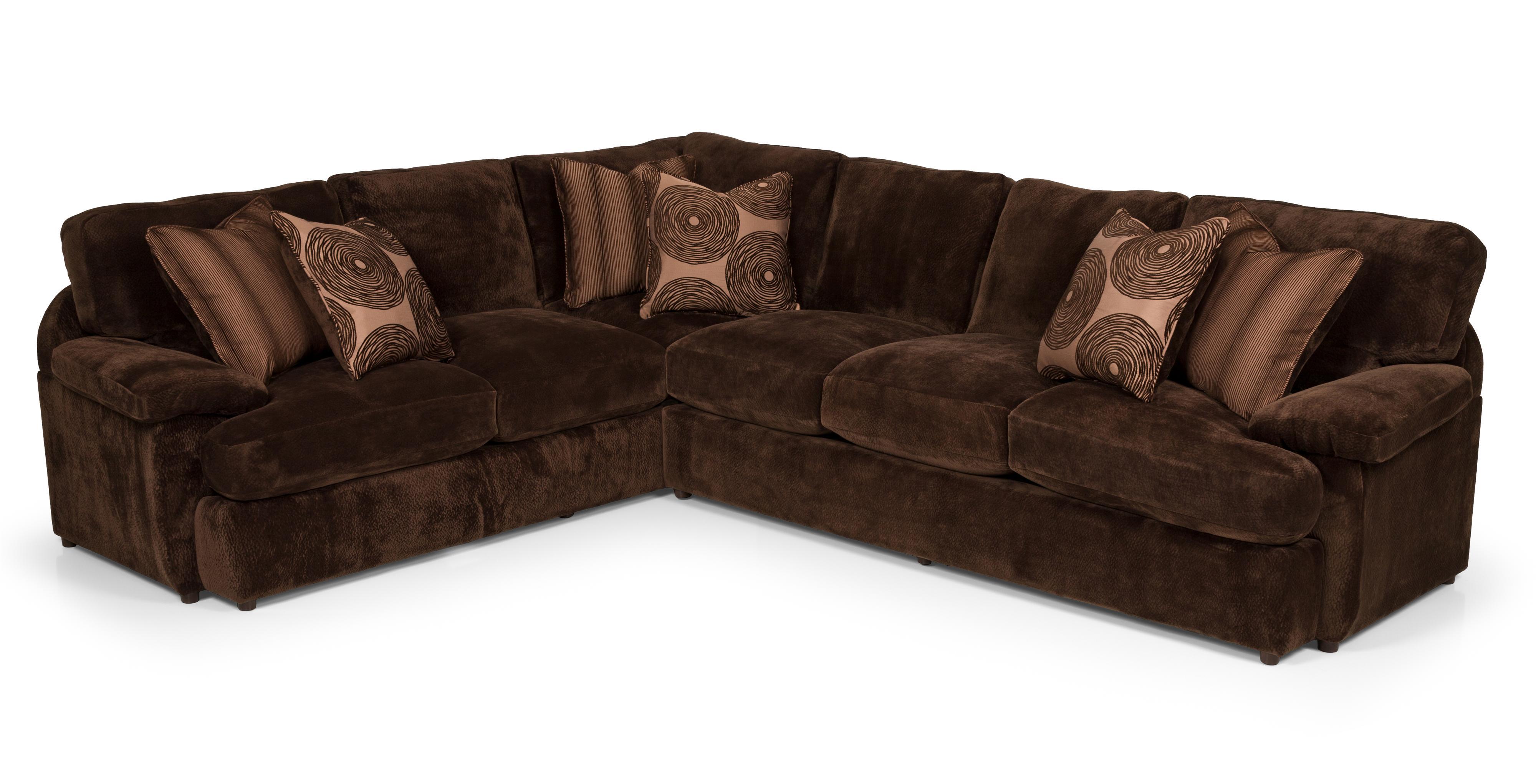 2 Pc Sectional Sofa w/ RAF Loveseat