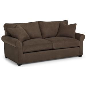 Transitional Queen Basic Sofa Sleeper