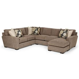 Stanton 282 Casual Sectional Sofa