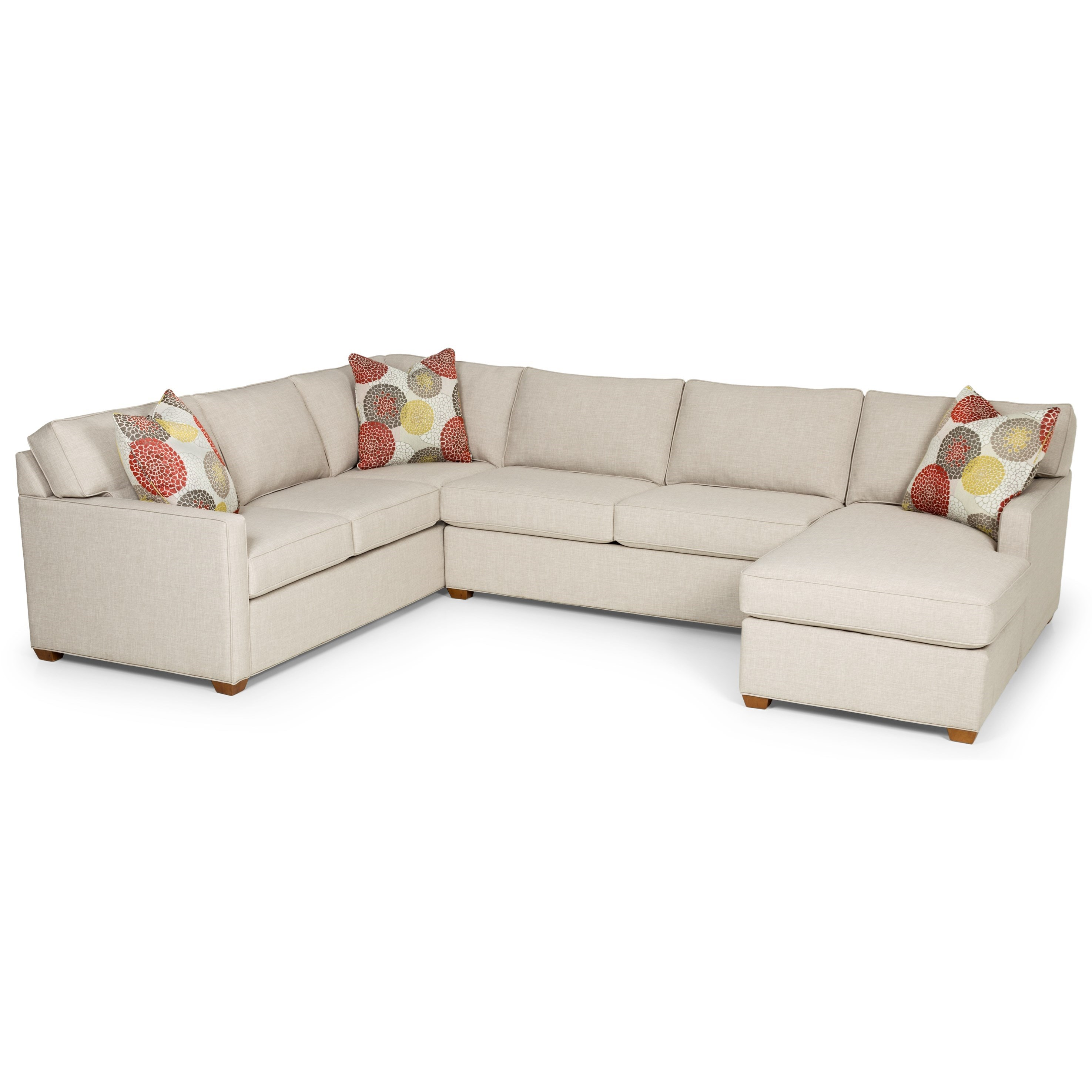 Stanton 287 Sectional Sofa - Item Number: 287-10L+23+21R