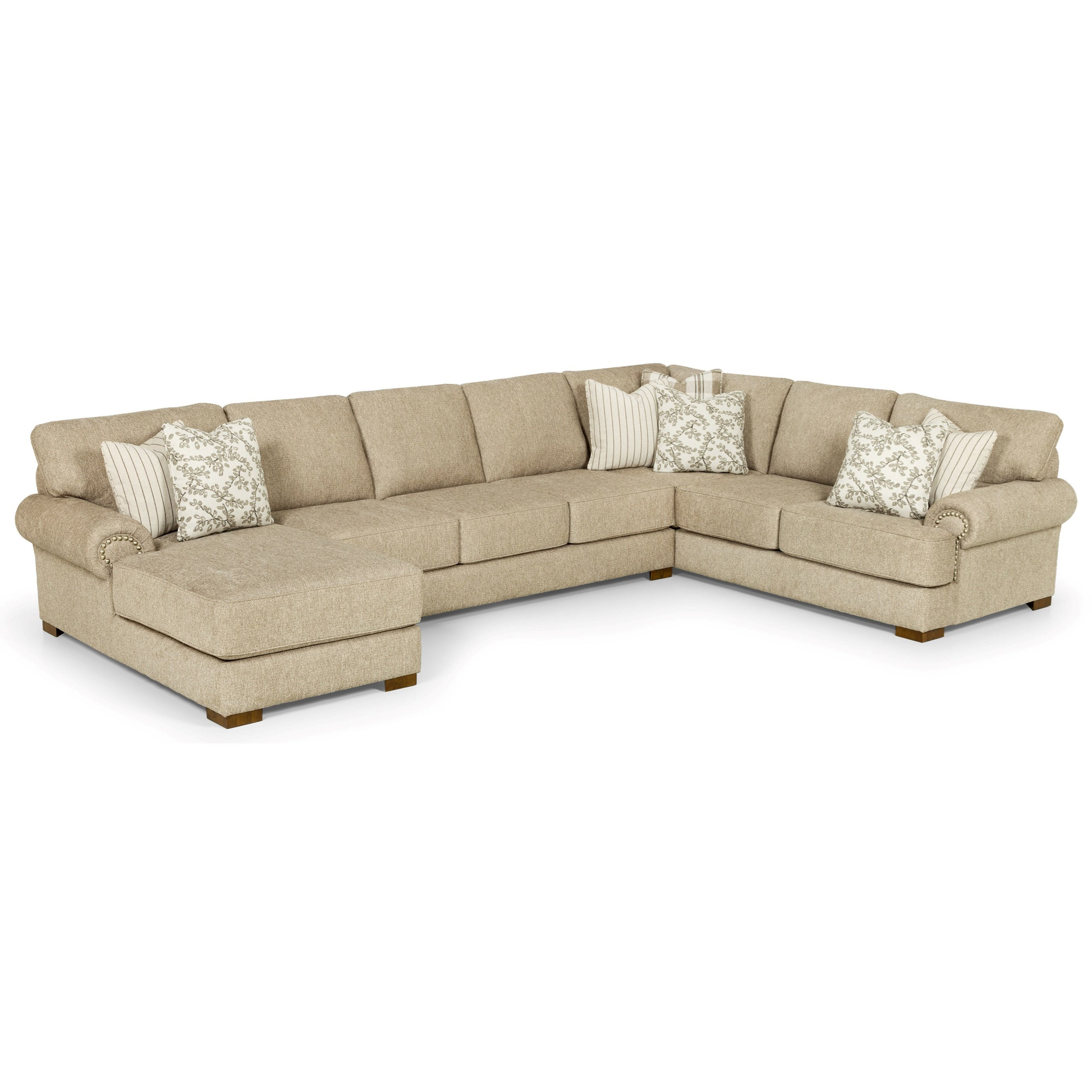 290 6-Seat Sectional Sofa w/ LAF Chaise by Stanton at Wilson's Furniture