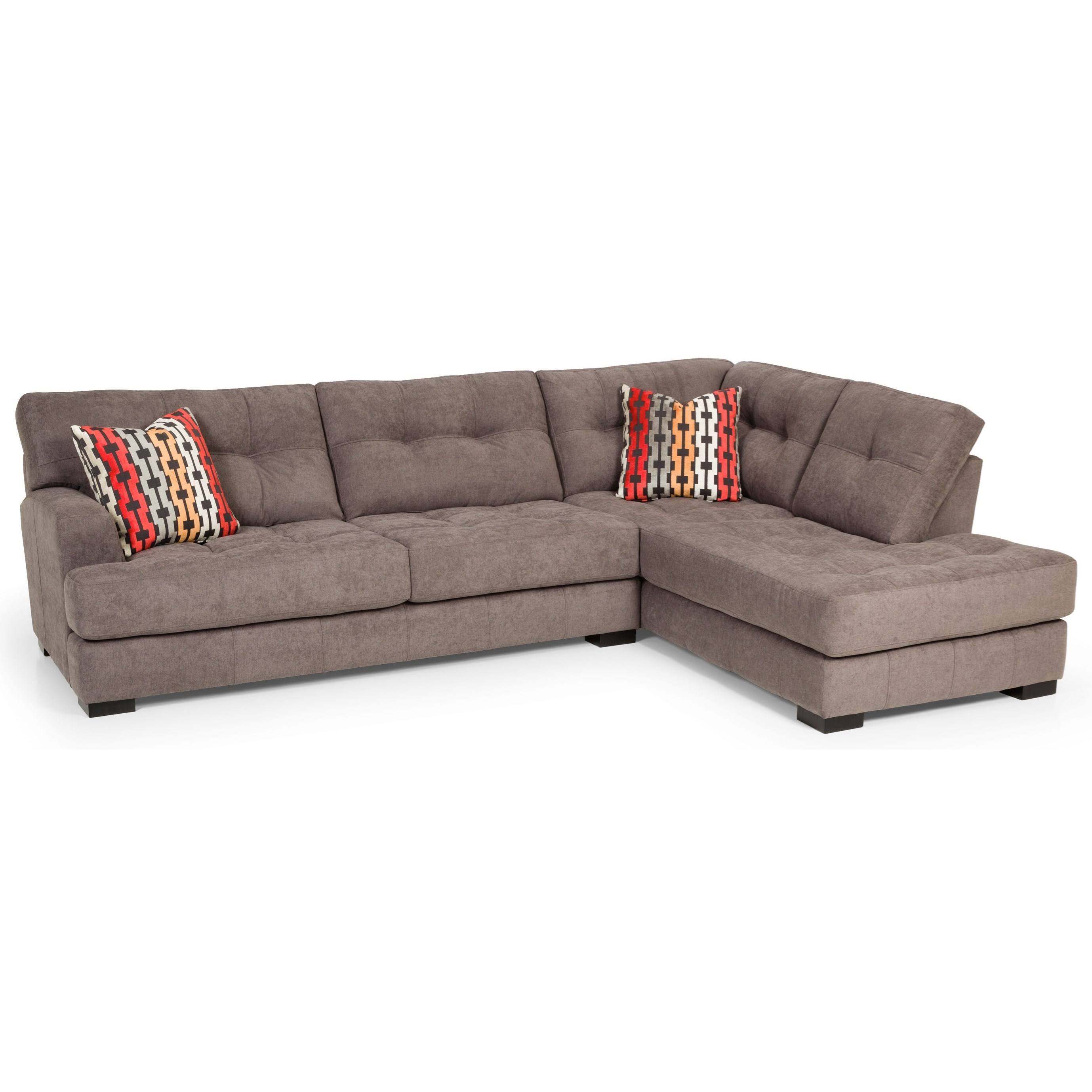 Stanton 308 2 Pc Sectional Sofa - Item Number: 308-11L+38R